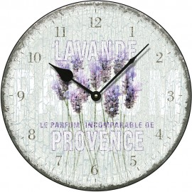 Lavande De Provance Wall Clock 36cm