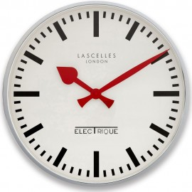 Designer Hands Silver Wall Clock 45cm