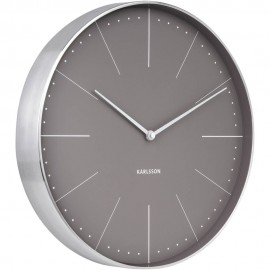 Normann Grey Wall Clock 37.5cm