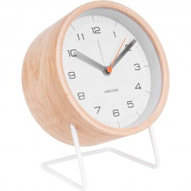 Innate XL White Alarm Clock 14cm