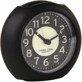 Large Black Alarm Clock 10cm
