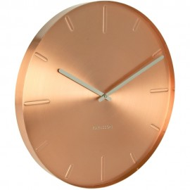 Belt Copper Wall Clock 40cm