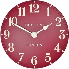 Arabic Wall Red Wall Clock 30cm