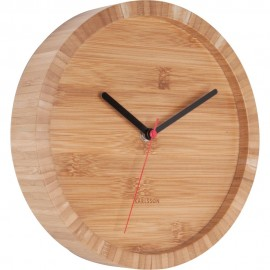 Tom Bamboo Wall Clock 26cm