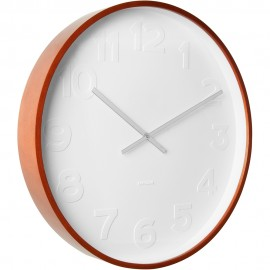 Mr White Numbers Wall Clock 37.5cm or 52.5cm
