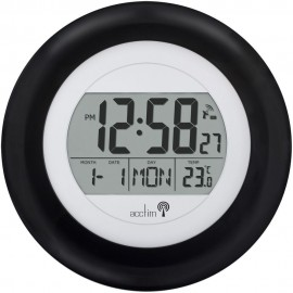 Cicus Radio Controlled Digital Wall Clock 24cm
