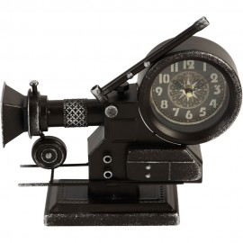 Mantel Clock Film Projector 28cm