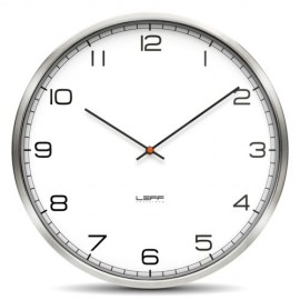 White Arabic Wall Clock 45cm