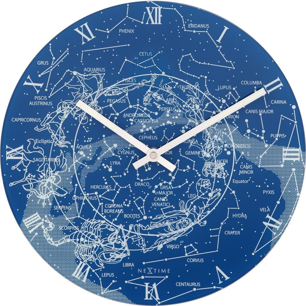 Milky way glow in the dark wall clock 30cm amipublicfo Images