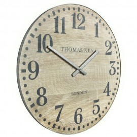 Wharf Soaped Oak Wall Clock 76cm
