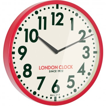 Firehouse Wall Clock Red 50cm