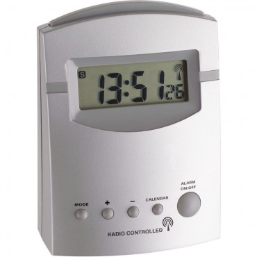 Radio Controlled Alarm Clock 10cm