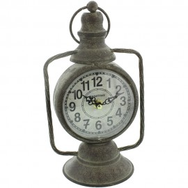Mantel Clock Old Lantern Design 30cm