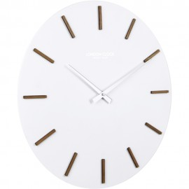 HVIT Wall Clock White 35cm