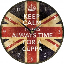 Always Time For A Cuppa Wall Clock 28.5cm