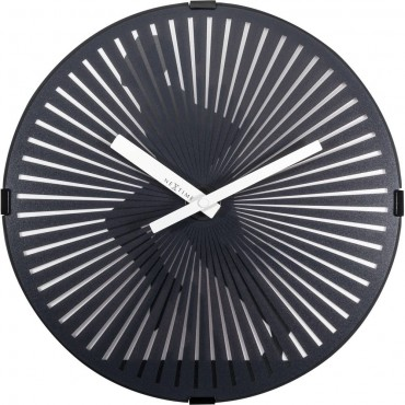 Running Man Moving Wall Clock 30.5cm
