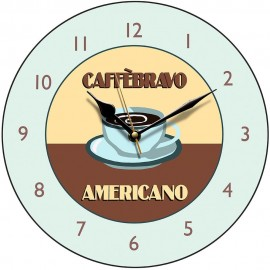 Perkins & Morely Americano Wall Clock 28.5cm