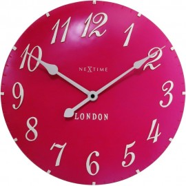 London Pink Wall Clock 34.5cm