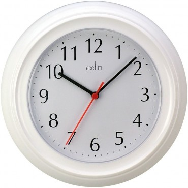Wycombe White Wall Clock 22.5cm