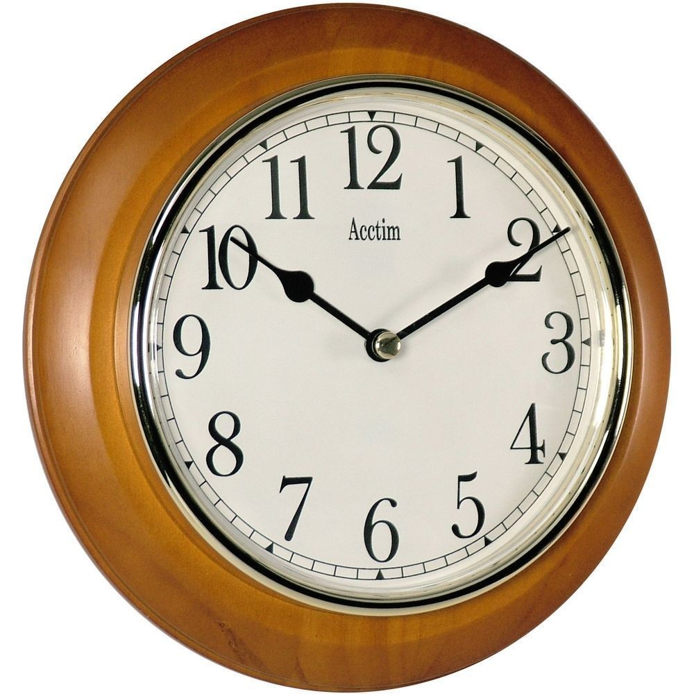 Maine Wooden Wall Clock 20 5cm