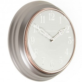 Campbell Pewter Wall Clock 30cm