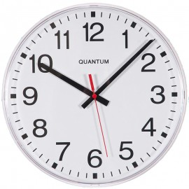 Mains Powered Radio Controlled Wall Clock 30cm