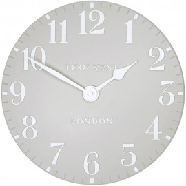 Arabic Wall Dove Grey Wall Clock 30cm