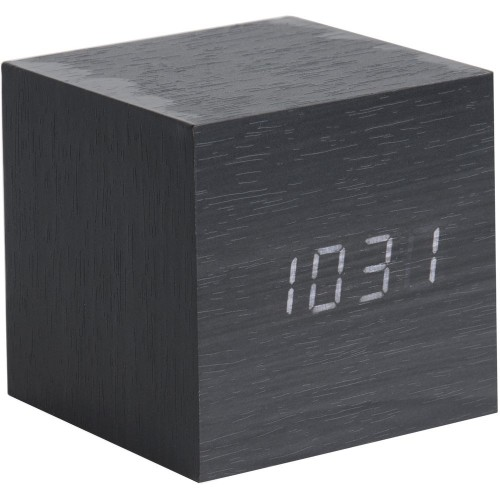 Cube Table Clock 8cm