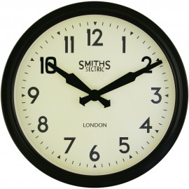 Smiths Retro Arabic Wall Clock 38cm or 50cm