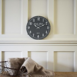 Emma Grey Wall Clock 42cm
