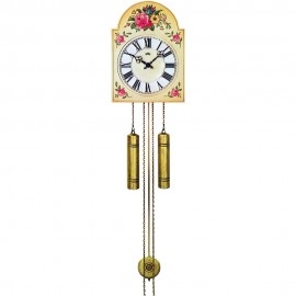 8 Day Chime & Strike Pendulum Clock 34cm