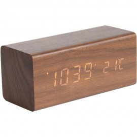 Block Table Clock 16cm