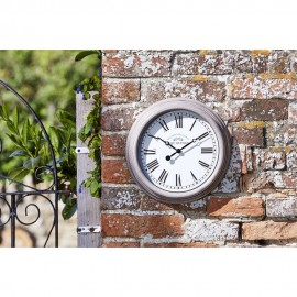 Biarritz Outdoor Wall Clock 30cm