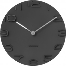 On The Edge Black Wall Clock 42cm