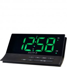 Sutter Radio Controlled Digital Dual Alarm Clock 17.5cm