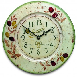 Olives Wall Clock 36cm