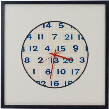 Number Wall Clock 50cm