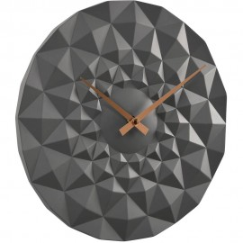 Friction Grey Wall Clock 30cm