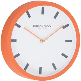 Pop Wall Clock Orange 25cm
