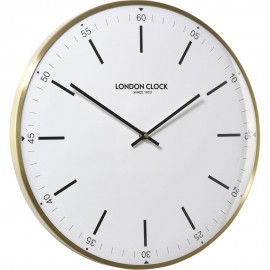 Larson Domed Lens Wall Clock 40cm