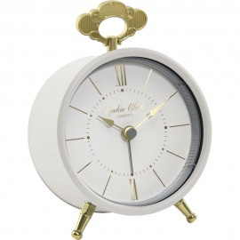Tilly Cream Alarm Clock 13cm