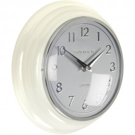 Bakery Cream Wall Clock 23cm