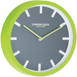 Pop Wall Clock Lime 25cm