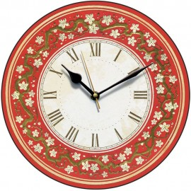 Oriental Pattern Wall Clock 28.5cm