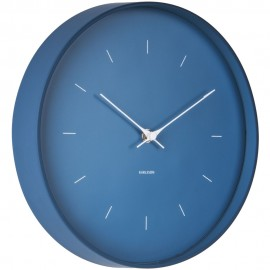 Butterfly Blue Wall Clock 27.5cm