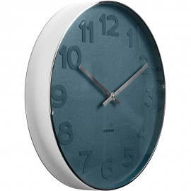 Mr Blue Wall Clock 37.5cm