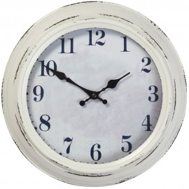 Highcliffe Outdoor Wall Clock With Temperature & Humidity Dial 30cm