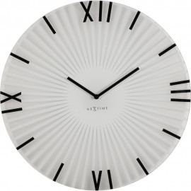 Sticks White Wall Clock 43cm