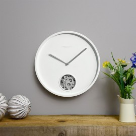 Precision Wall Clock White 30cm