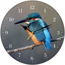 Kingfisher Wall Clock 28.5cm
